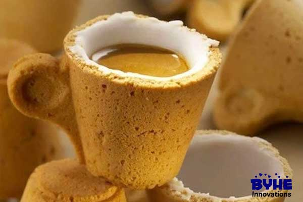 Edible Coffee Cup - Byhe Innovations