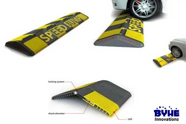 Folding Speed Bumps - Byhe Innovations