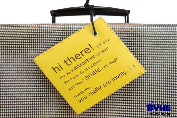 Personalized Luggage Tag - Byhe Innovations