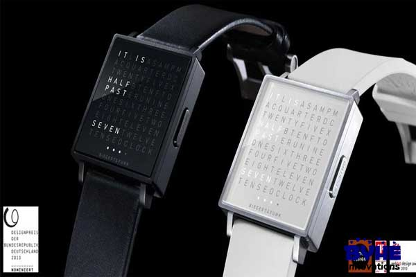 QlockTwo Watch - Byhe Innovations