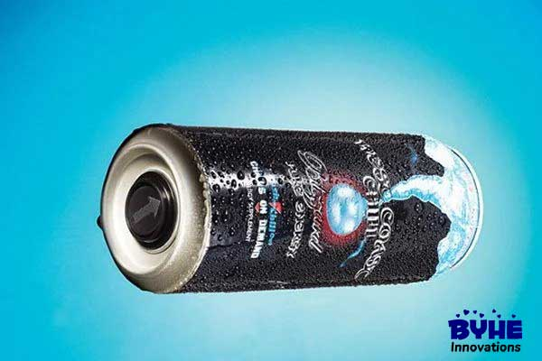 Self-Chilling Energy Drink - Byhe Innovations