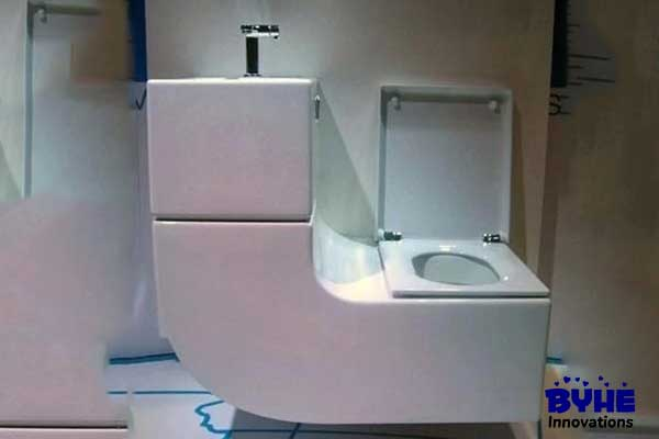 Toilet With Sink Cistern - Byhe Innovations