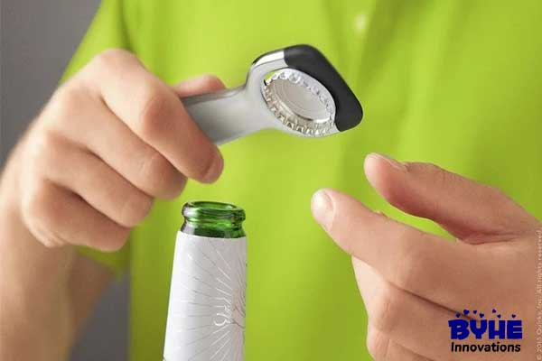 Trap The Cap Bottle Opener - Byhe Innovations